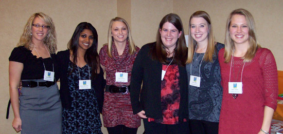 Students in the 'Developing Content Readers' class presented a session at the ARA Conference in November.